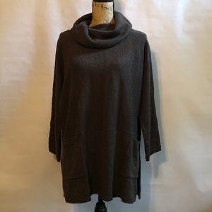 Soft Surroundings Cowl Neck Tunic Sweater PL/PXL